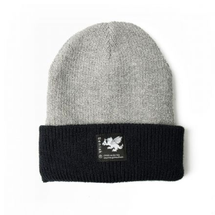 Senlak Heritage Beanie - Heather and Navy